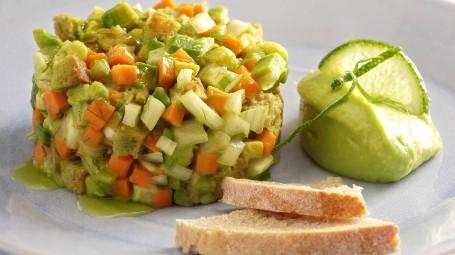 La tartara di verdure