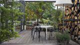 Casa, interno con piante
