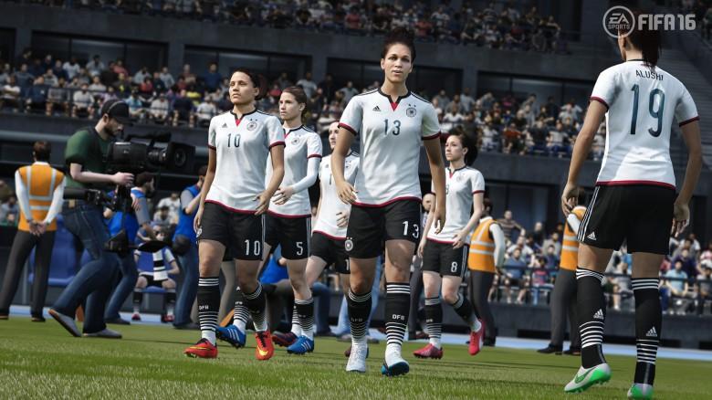 la nazionale femminile tedesca