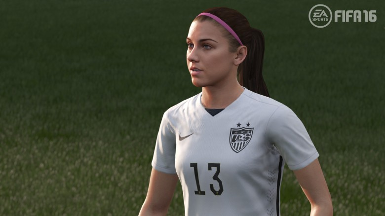 La velocissima Alex Morgan