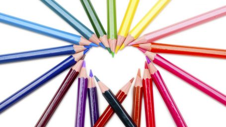 matite a cuore