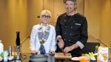 La dietologa Carla Lertola e lo chef-biologo Fiorenzo Frumento