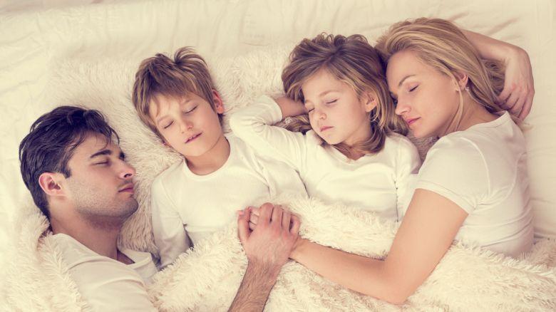 Bambini: i benefici del co-sleeping