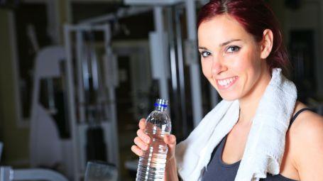 palestra acqua fitness donna tapis roulant