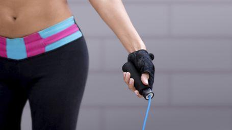 L'allenamento con la corda per bruciare calorie