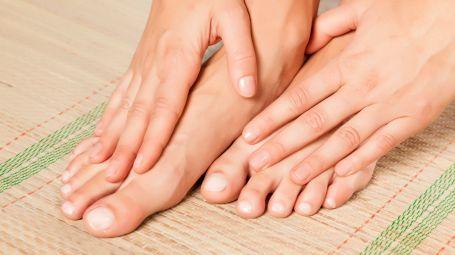 Unghie dei piedi: le cure ok