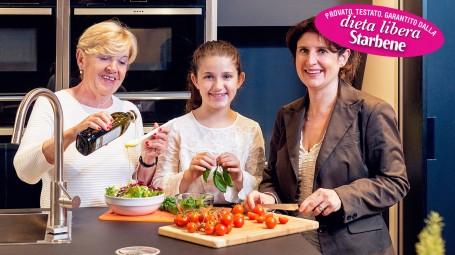 3 generazioni a dieta
