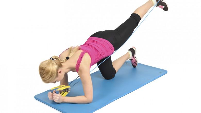 4 esercizi per i glutei con gli elastici fitness