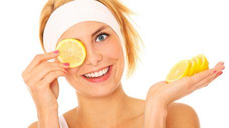 Macchie del viso: il trattamento al limone