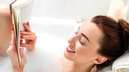 donna vasca da bagno