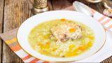 zuppa di pollo e riso