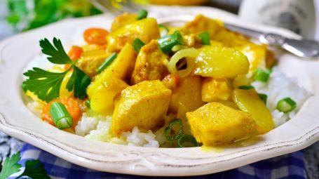 Pollo al curry – La ricetta