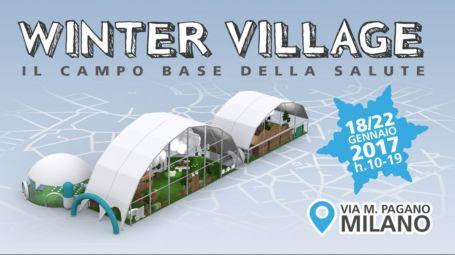 Winter Village, a Milano il villaggio della salute