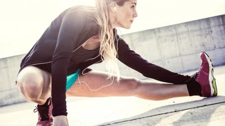 stretching corsa