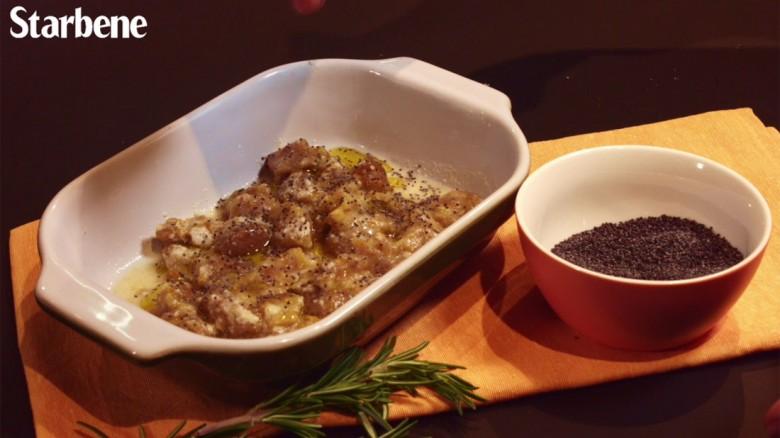 Gnocchi di patate con zafferano e semi di papavero - La video ricetta