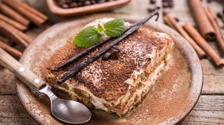 Tiramisù light senza mascarpone