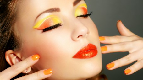 Trucco vitaminico: il make up arancione