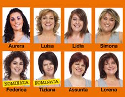 I profili delle protagoniste