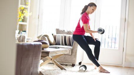 Fitness pesi esercizi Starbene