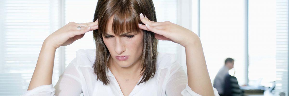 mal di testa quando si perde pesona