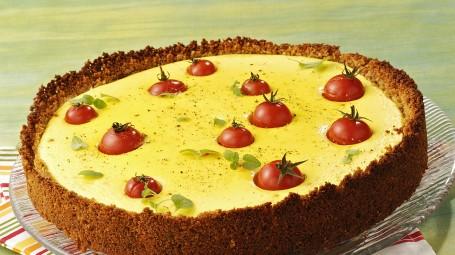 Torta al cheesecake ai pomodorini Starbene