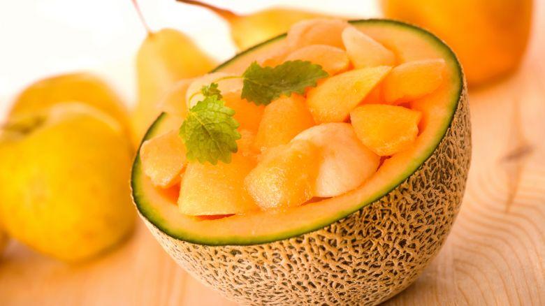 Melone, - cellulite + abbronzatura
