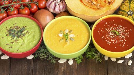 Lunedì light: creme e zuppe per un effetto non solo detox