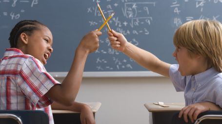 Bambini, classe, scuola