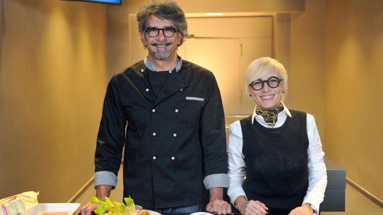 La nostra dietologa Carla Lertola e il biologo-chef Fiorenzo Frumento