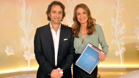Il dottor Luca Bertini e la conduttrice Tessa Gelisio