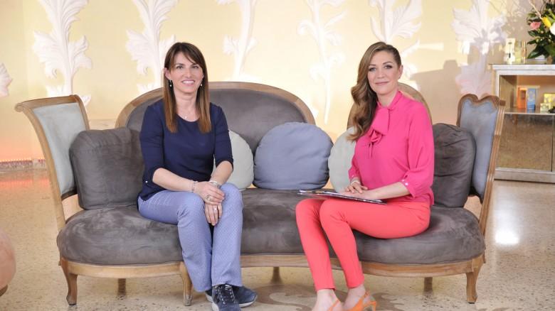 La cardiologa Daniela Aschieri e la conduttrice Tessa Gelisio