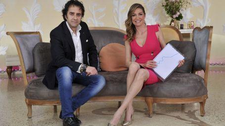 Luca Bertini e Tessa Gelisio