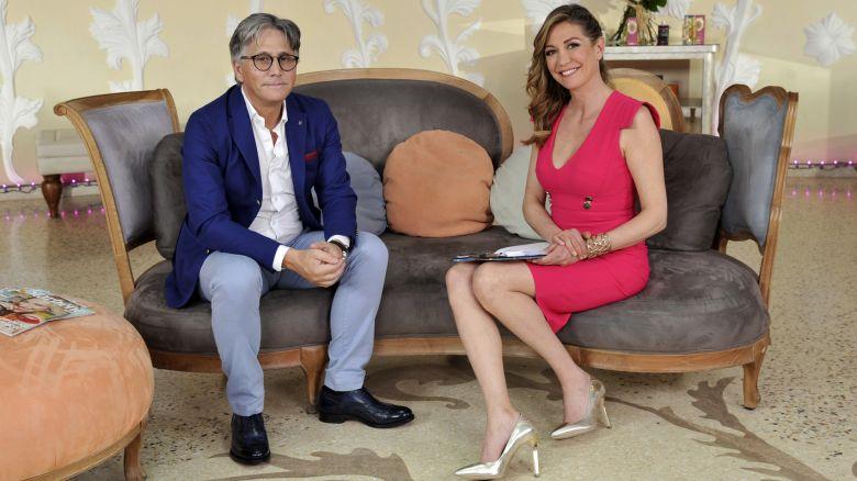 Roberto Zorzo, fondatore dell'Accademia alimentare Bioimis, e Tessa Gelisio
