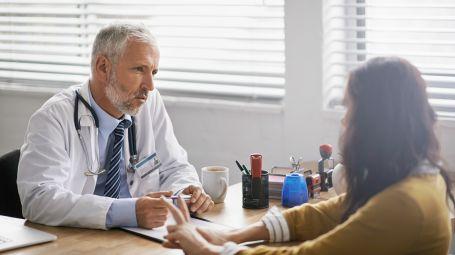 Medico paziente studio