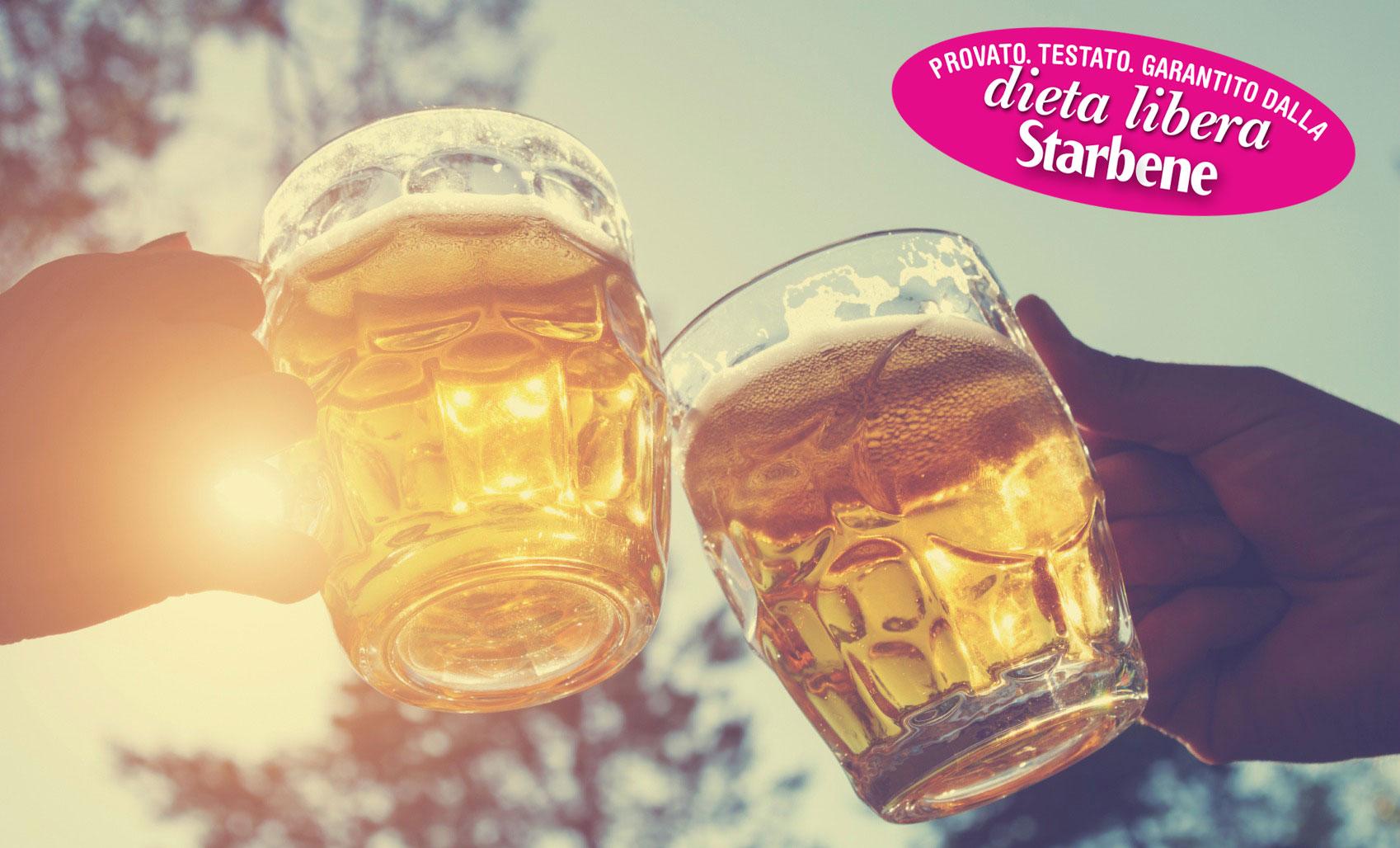 perdere peso bevendo birra leggera