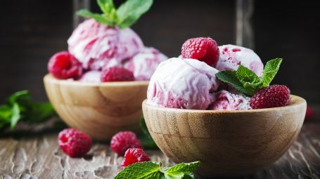 In caso è possibie fare il gelato con tutti i gusti, da quelli alla crema alla frutta