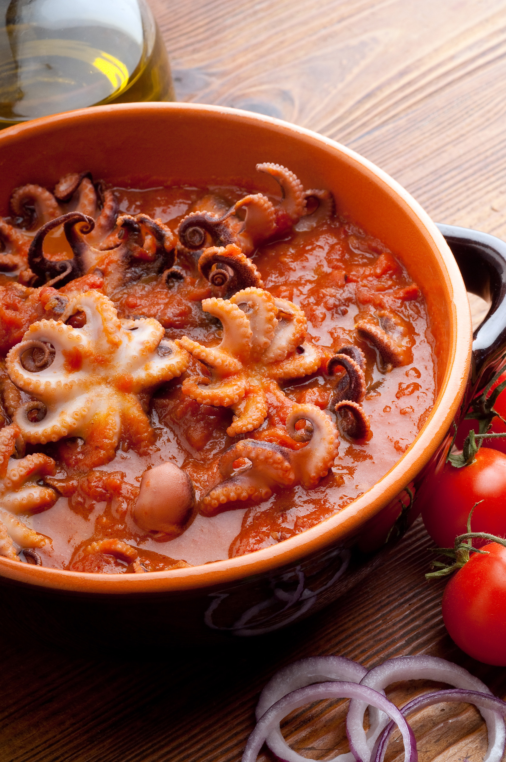 Moscardini in umido con patate la ricetta for Cucinare moscardini