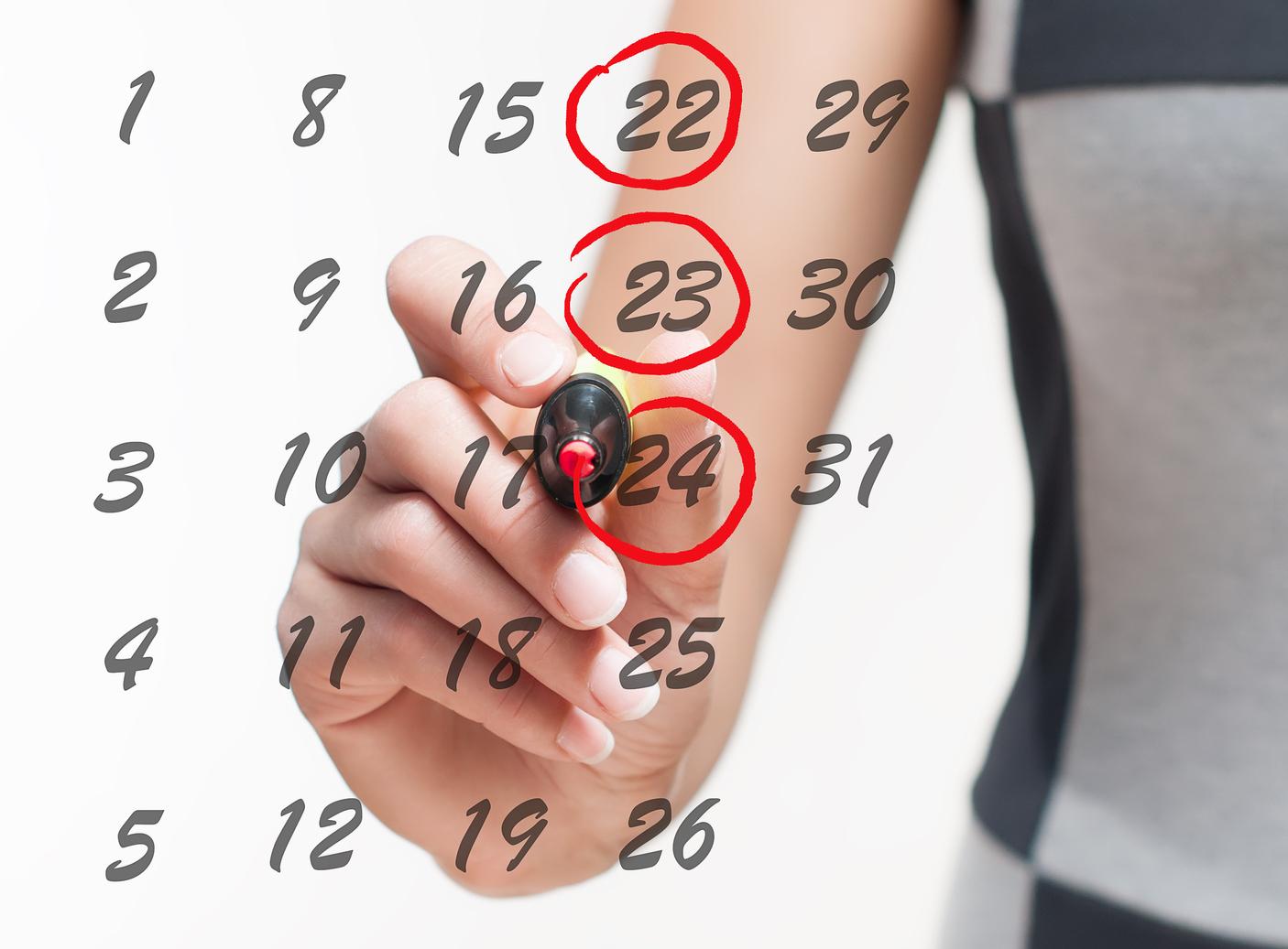 Calendario Menopausa.La Dieta Dei 28 Giorni Che Cos E E Come Funziona