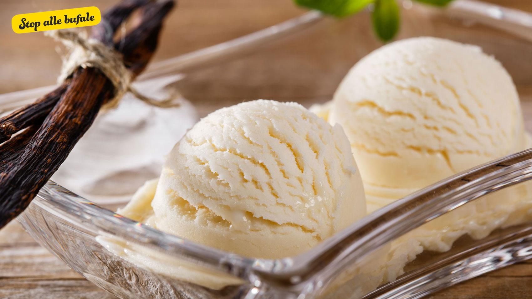dieta con gelato alla vaniglia