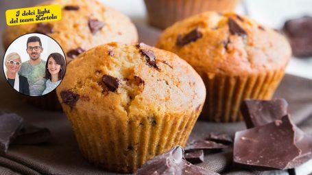 La ricetta di Carla Lertola: come si fanno i muffin light al cioccolato