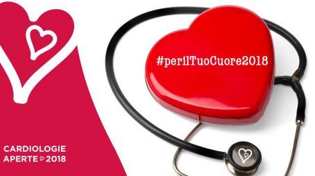 """Con la campagna """"Per il Tuo cuore 2018"""" controlli cardiologici gratuiti"""