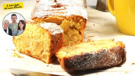 La ricetta di Carla Lertola: come si fa il plumcake di mele light