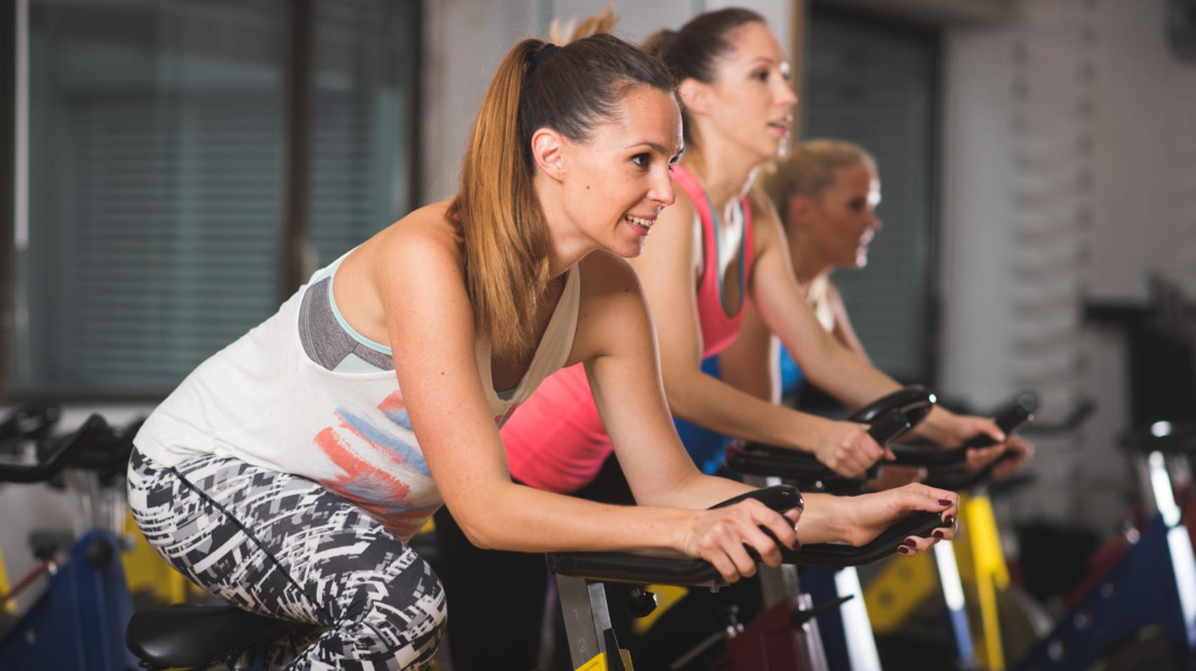 perdere peso facendo lezioni di spinning