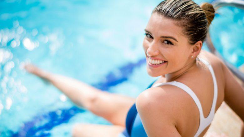 Detox: sgonfiati con l'acqua fitness