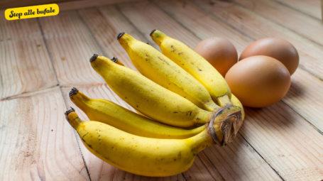 È vero che mangiare banane e uova insieme può essere mortale?