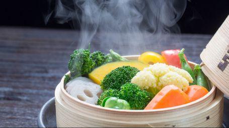 3 buoni motivi per scegliere la cottura a vapore