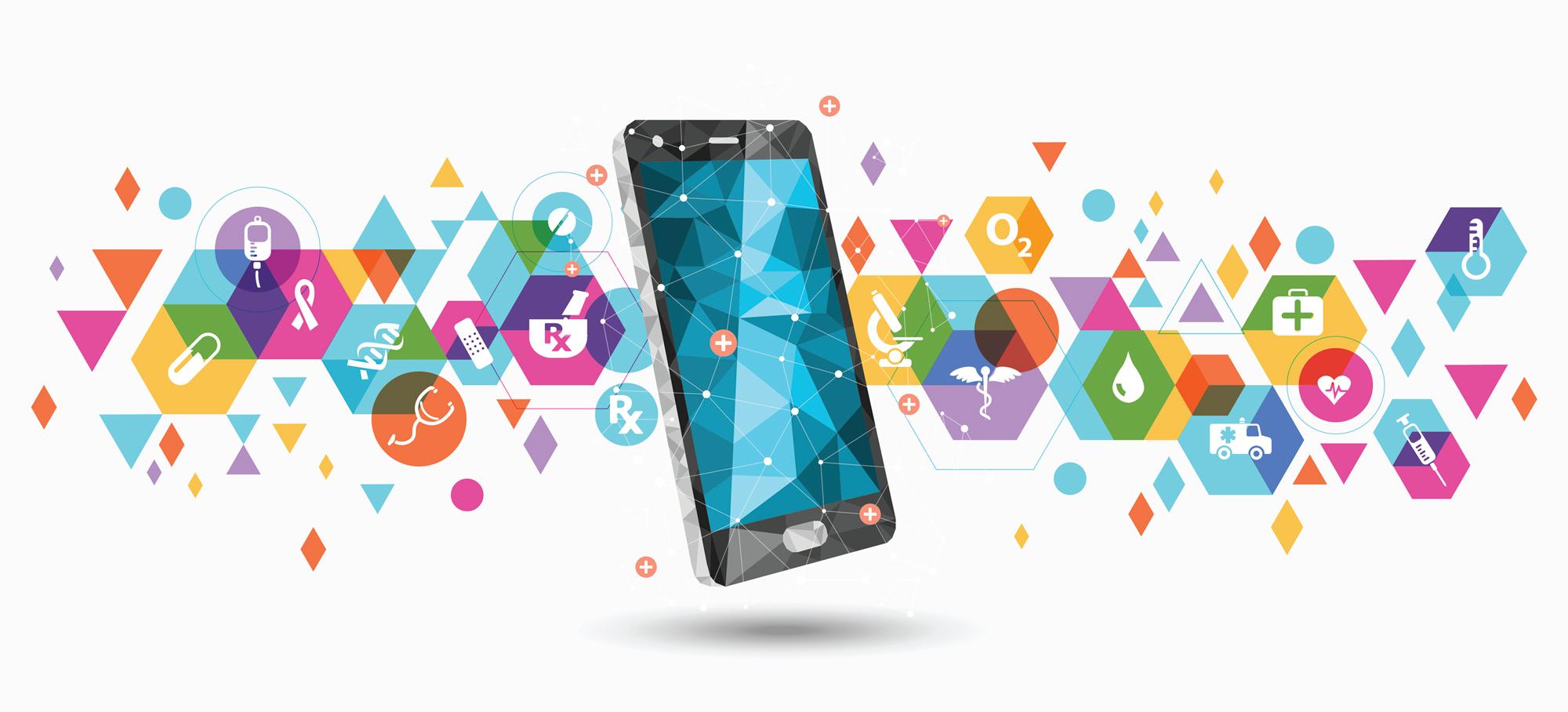 app, salute, smartphone