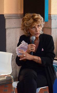 La senologa Adriana Bonifacino