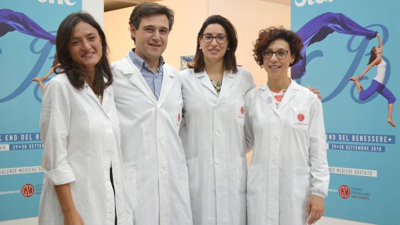 I medici del Gruppo Ospedaliero San Donato a Salerno
