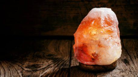 Lampade di sale: 5 effetti benefici